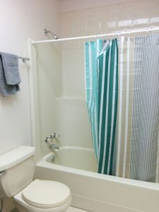 Full-service bathroom including shower!
